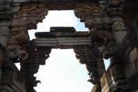 detailed carvings of the archways