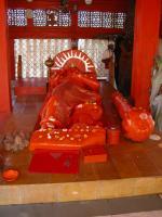 Vikata Hanuman shrine at the Gauri Somnatha campus