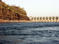 waters of the Narmada River flow again